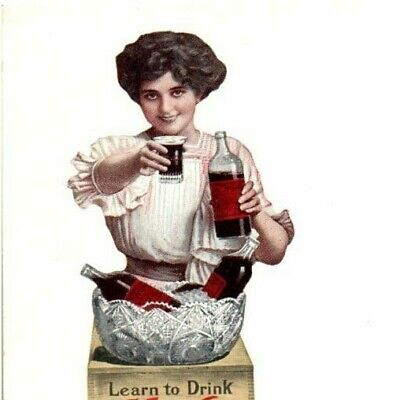 Moxie Advertising Postcard 1905-1915 original great condition