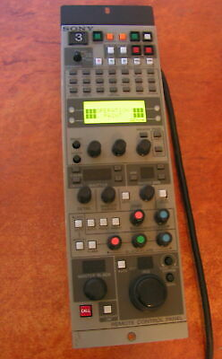 Sony Rcp-tx7 Remote Control Panel W Cable RCPTX7 Controller
