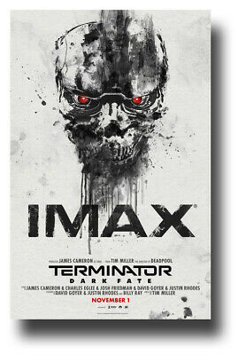 "Terminator Dark Fate Poster Movie 11""x17"" Imax  USA SAMEDAY SHIP"
