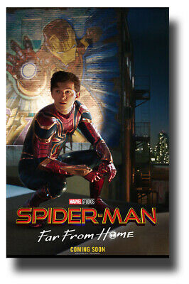 """Spider-man Poster Movie 11""""x17"""" Mural Spiderman Far From Home  USA SAMEDAY SHIP"""