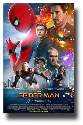 """Spider-Man Poster Movie 11""""x17"""" Other HomeComing Tom Holland  USA SAMEDAY SHIP"""