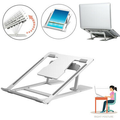 Adjustable Laptop Stand Folding Portable Desktop iPad Holder Office Support Tray