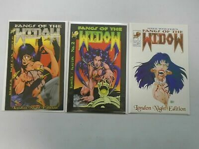 Fangs of the Widow run #1-3 8.0 VF (1995 London Night)