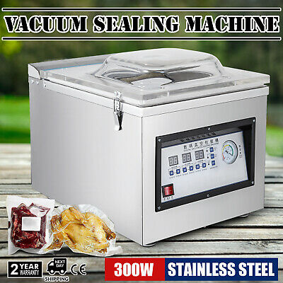 DZ-260C Digital Vacuum Packing Sealing Machine Sealer System Solid Commercial