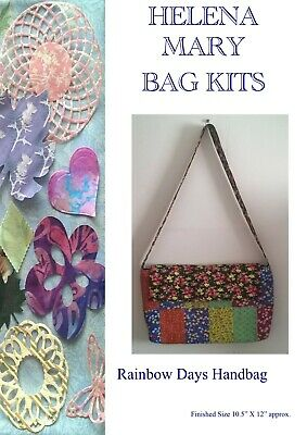Helena Mary Bag Making Kit Complete Kit - Rainbow Days Patchwork bag