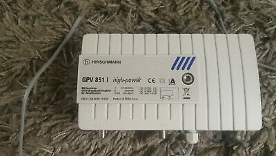 TRIAX  GPV 851 high-power CATV Broadband Amplifier.