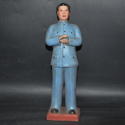 China Collection Cultural Revolution Hua Guofeng Porcelain statue