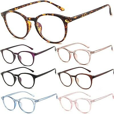 Clear Lens Fashion Glasses With Anti-Glare UV400 Lens