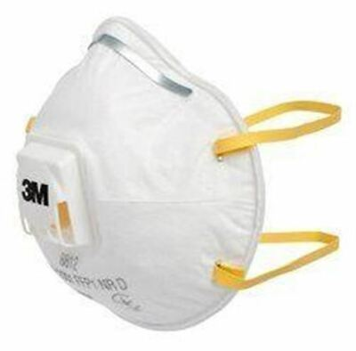3M™  Disposable Face Mask Particulate Respirator Aura 8812 FFP1 Valved Box of 10