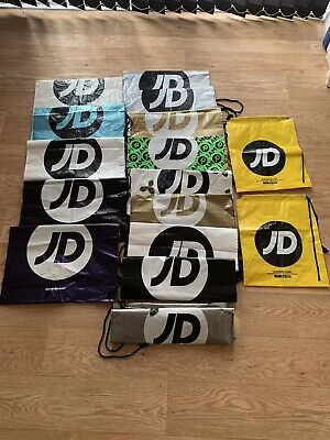 JD Sports Yellow Draw String Bag - Brand New Never Used