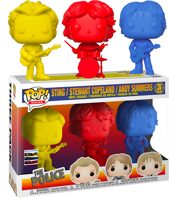 FUNKO POP! The Police - Sting, Andy Summers & Stewart Copeland Synchronicity