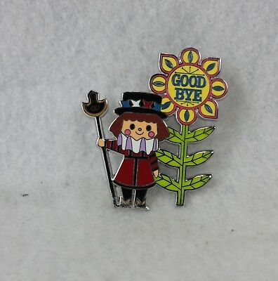 Disney Parks Pin Its a Small World Goodbye Good Bye Mystery England English