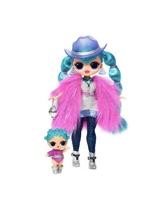 Lol Surprise OMG dolls, COSMIC NOVA w/ Lil COSMIC QUEEN. Sealed holiday On Hand