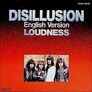 LOUDNESS DISILLUSION~English Version JAPAN CD COCA-12143 1994 s7272