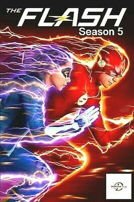 The Flash: The Complete Fifth Season 5 (DVD, 2019) - Sealed FREE S/H !!!