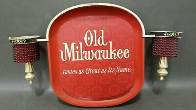 Vintage Old Milwaukee Beer Advertising Sign With NO Globes Non-Lighted
