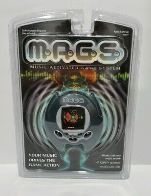Brand New Hasbro Hit Clips 2001 M.A.G.S Handheld Electronic Music Video Game
