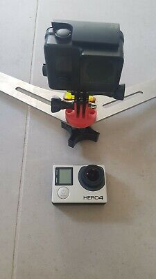 gopro hero 4 black with remote and spare case