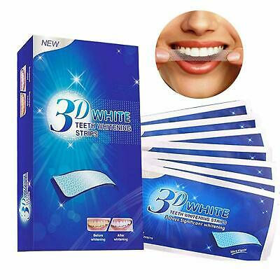 Professional Home Teeth Whitening Advanced 3D Teeth Whitening Strips 14 Pairs