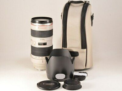 Canon EF 70-200mm f/2.8 L USM EF70-20040LIS Camera Lens Check Tested Working Use