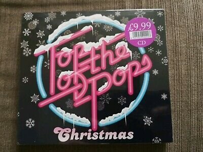 Top of the Pops Christmas,  37 track 2 cd album, New/Sealed xmas