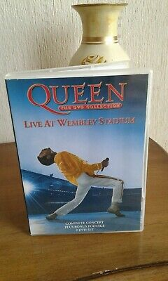 Queen - Live At Wembley Stadium (DVD, 2003, 2-Disc Set with booklet,  FREE POST