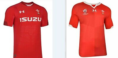 Wales 2019 Rugby Home Shirt World Cup Jersey Sizes S-5Xl Bnwt Rwc