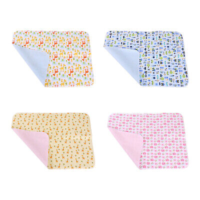 Baby Nappy Urine Bedding Changing Pad Reusable Stroller Diaper Soft Mat Washable