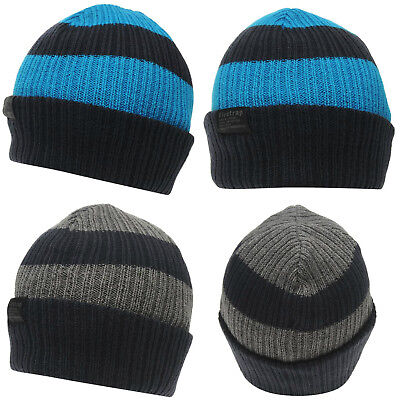 Firetrap Chunky Beanie Junior JNR NEW Hat Cap Kids Knitted Knit