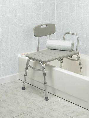 BodyHealth Adjustable Height Tub Transfer Bench w/Suction Cups