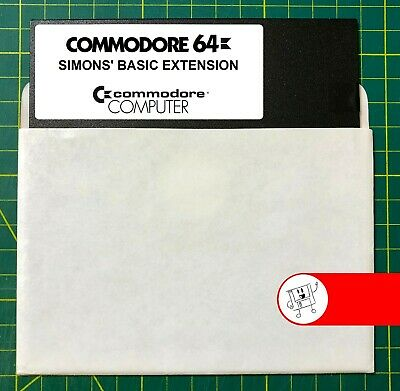 Commodore 64 Simons' Basic Extension (Simons' Basic 2.0) 5.25 Floppy Disk
