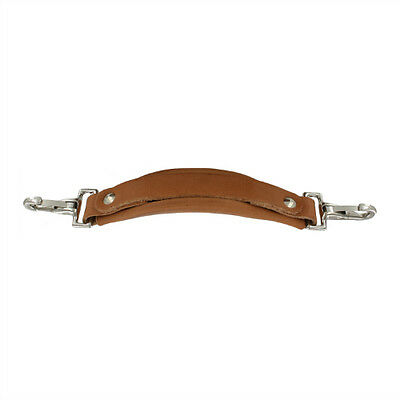 Replacement Leather Emergency Handle in Russet