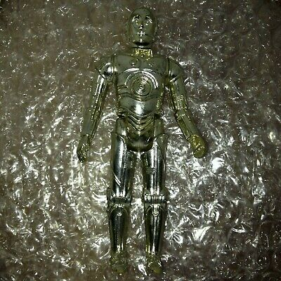 Star Wars Vintage Kenner 1977 C-3PO Action Figure Loose Limbs Rusty Nail