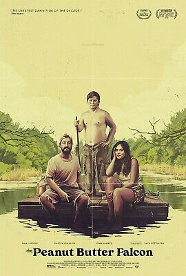The Peanut Butter Falcon Movie Poster (24x36) - LaBeouf, Dakota, Zach Gottsagen