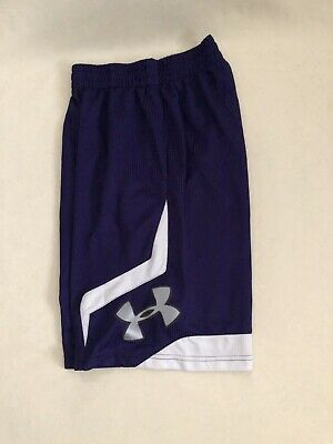 Green NEW UNDER ARMOUR Stock Prodigy Basketball Shorts men white