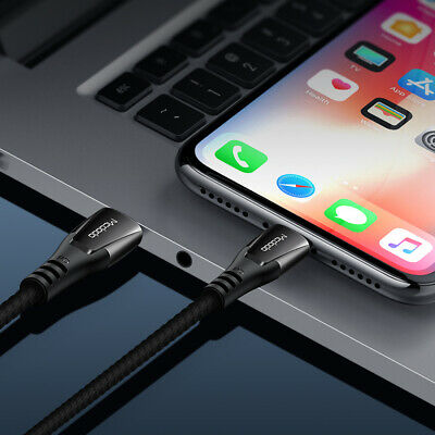 Mcdodo PD 18W Fast Charging Cord Sync USB C to ip Cable fr iPhone 11 X 8 Pro Max