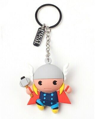 Official Marvel Thor Character 3D Rubber Keyring / Keychain