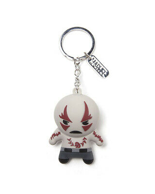 Official Marvel Guardians of the Galaxy Drax 3D Rubber Keyring / Keychain
