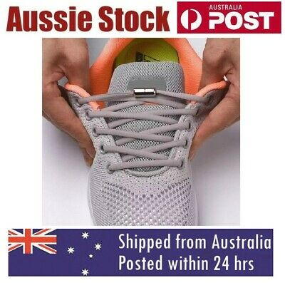 No Tie Locked Elastic Shoelace Shoe Lace Lazy Laces for Kids Adults Sneakers