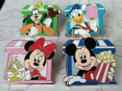 Delicious Disney Pin Trading Starter Food Treats Snack Make a Set Lot