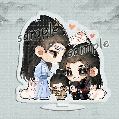 Grandmaster of Demonic Cultivation 陈情令 The Untamed Wuxian Paper Men Sticky Note