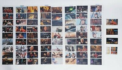 Star Trek Generations Collectors Cards - Skybox 76 Card Set