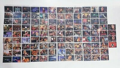 Star Trek Next Generation Season 1 Trading Cards - 112 Card Set 1994 Next Gen