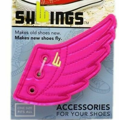 New Official Shwings Neon Pink Wings 1 Pair