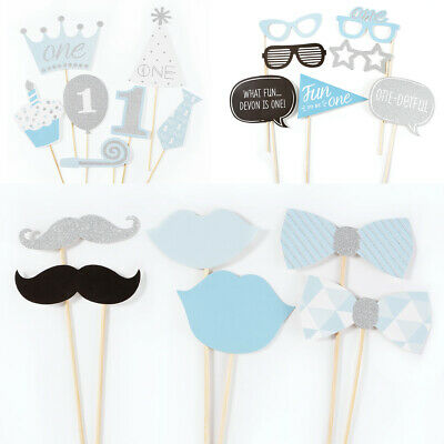 20pcs Baby Shower Photo Booth Props New Born 1st Birthday Party Decoration