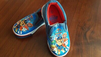Trainers Kids Slip On Canvas Paw Patrol Summer Pumps Shoes Childrens