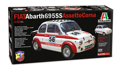 ITALERI 1/12 CARS FIAT ABARTH 695 SS car model kit