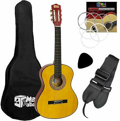 Classical Guitar Children Learning Acoustic Kids Pack 3/4 Starter Pack