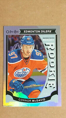 Connor McDavid 2015-16 Upper Deck O-Pee-Chee Rainbow Marquee Rookie RC Oilers
