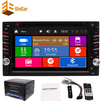 """7""""Double 2Din Car inDash Stereo Radio DVD Player MP3 CD AUX IN USB SD NO GPS"""